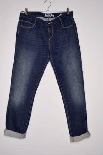 Jean oscuro corto