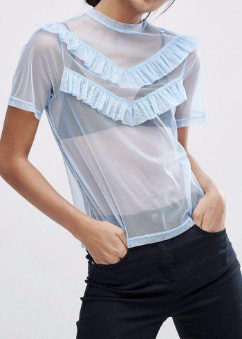Blusa transparente ASOS