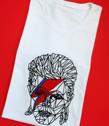 Playera/camiseta David Bowie