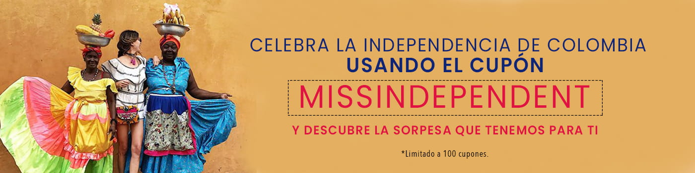 Cupón miss independent
